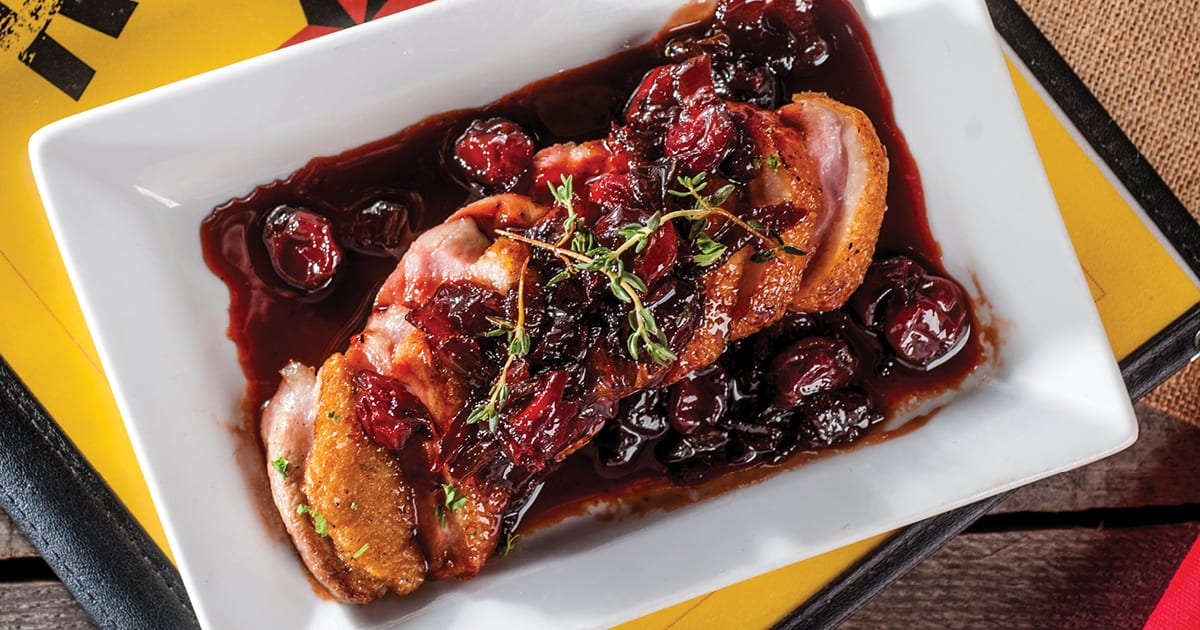 Duck with Cheerwine and Cherry Gastrique | The Local Palate