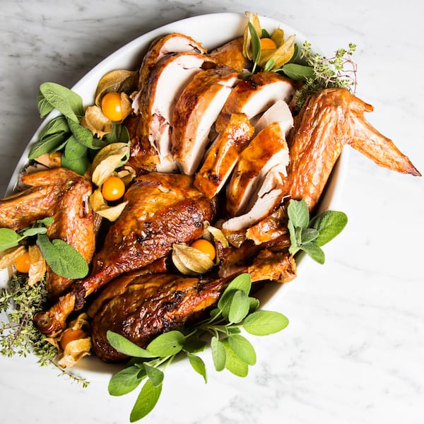 Dry-Brined and Herb-Roasted Turkey