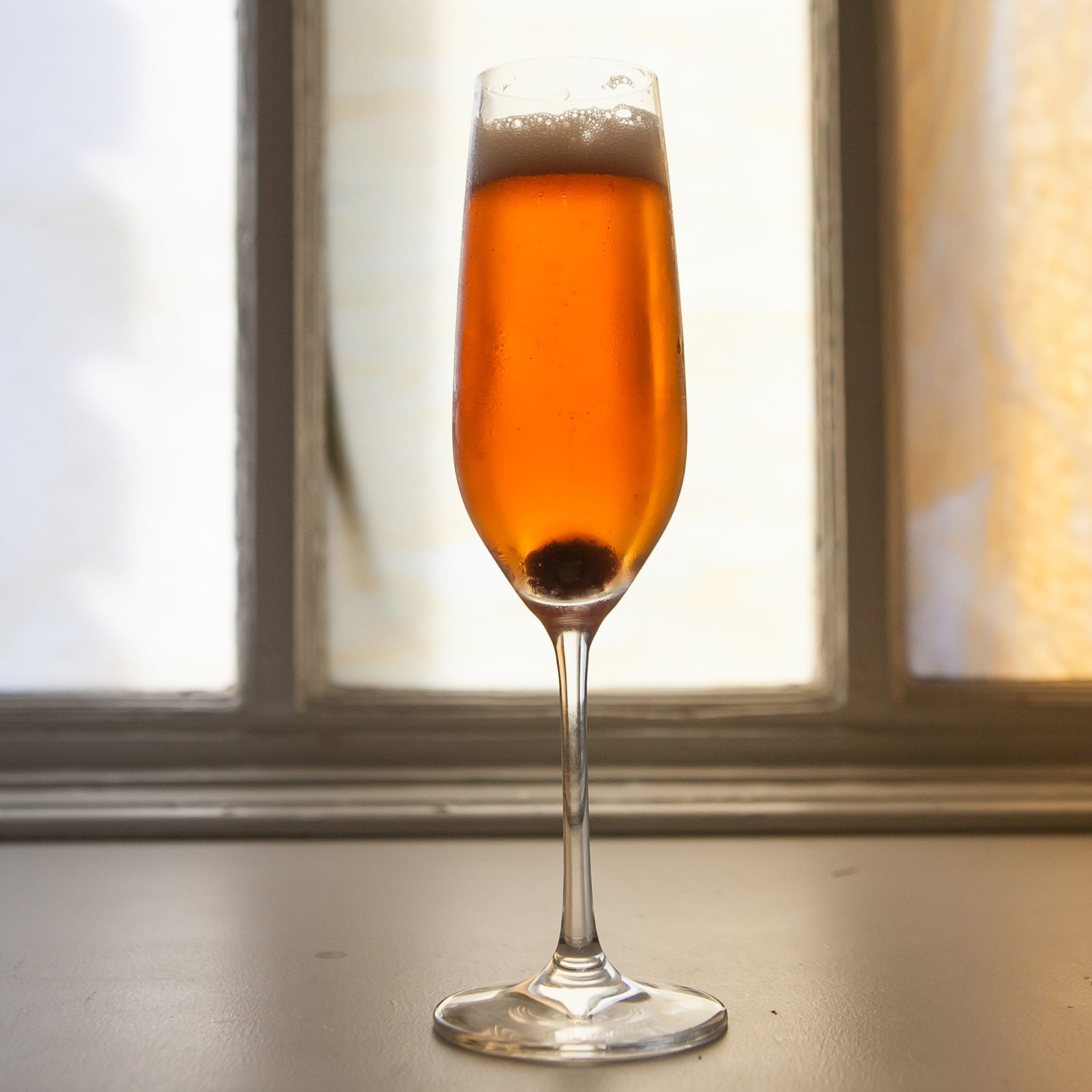 Todd Thrasher's Champagne Cocktail