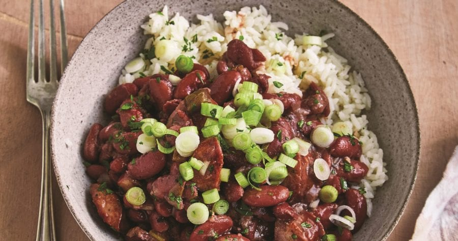 Make ahead recipes for lunch: Red Beans & Rice
