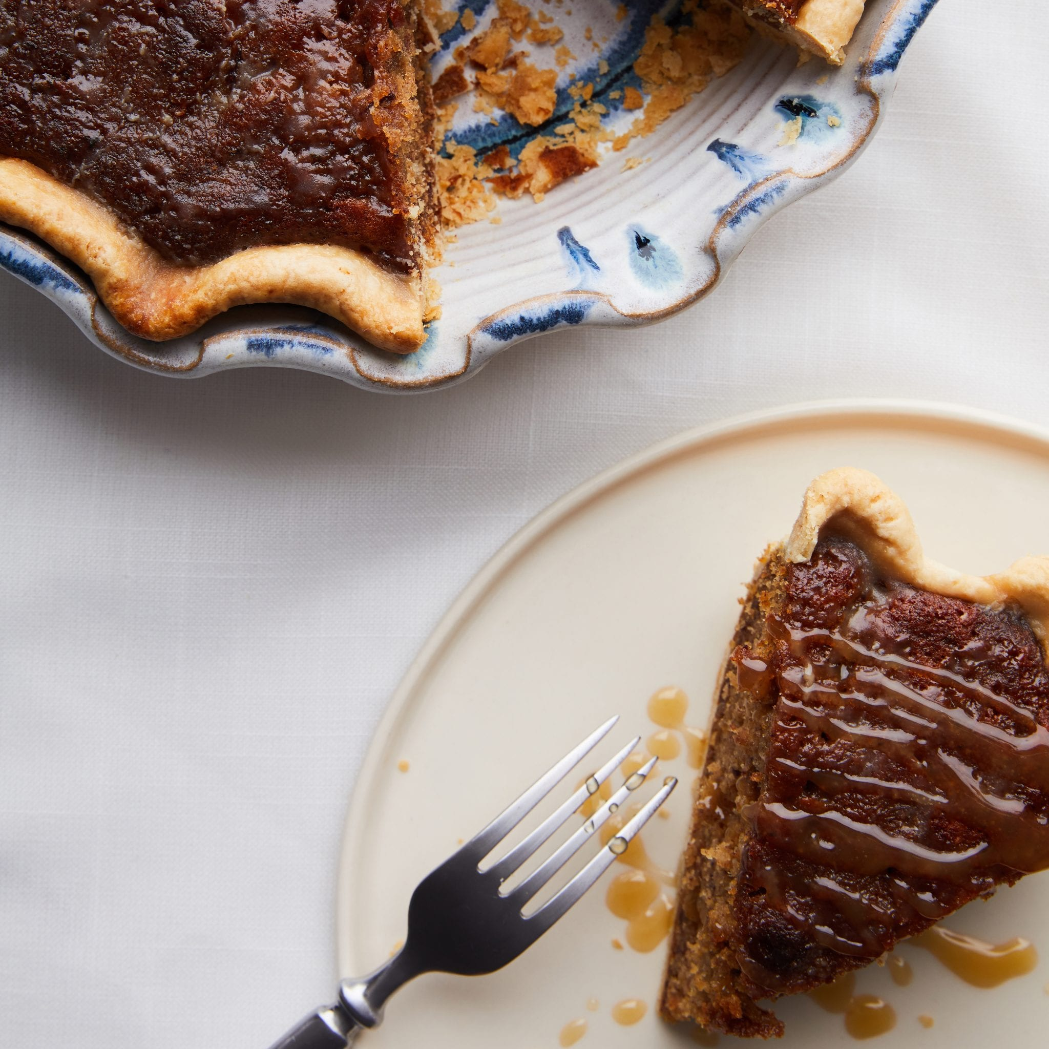 Sticky Toffee Pudding Pie