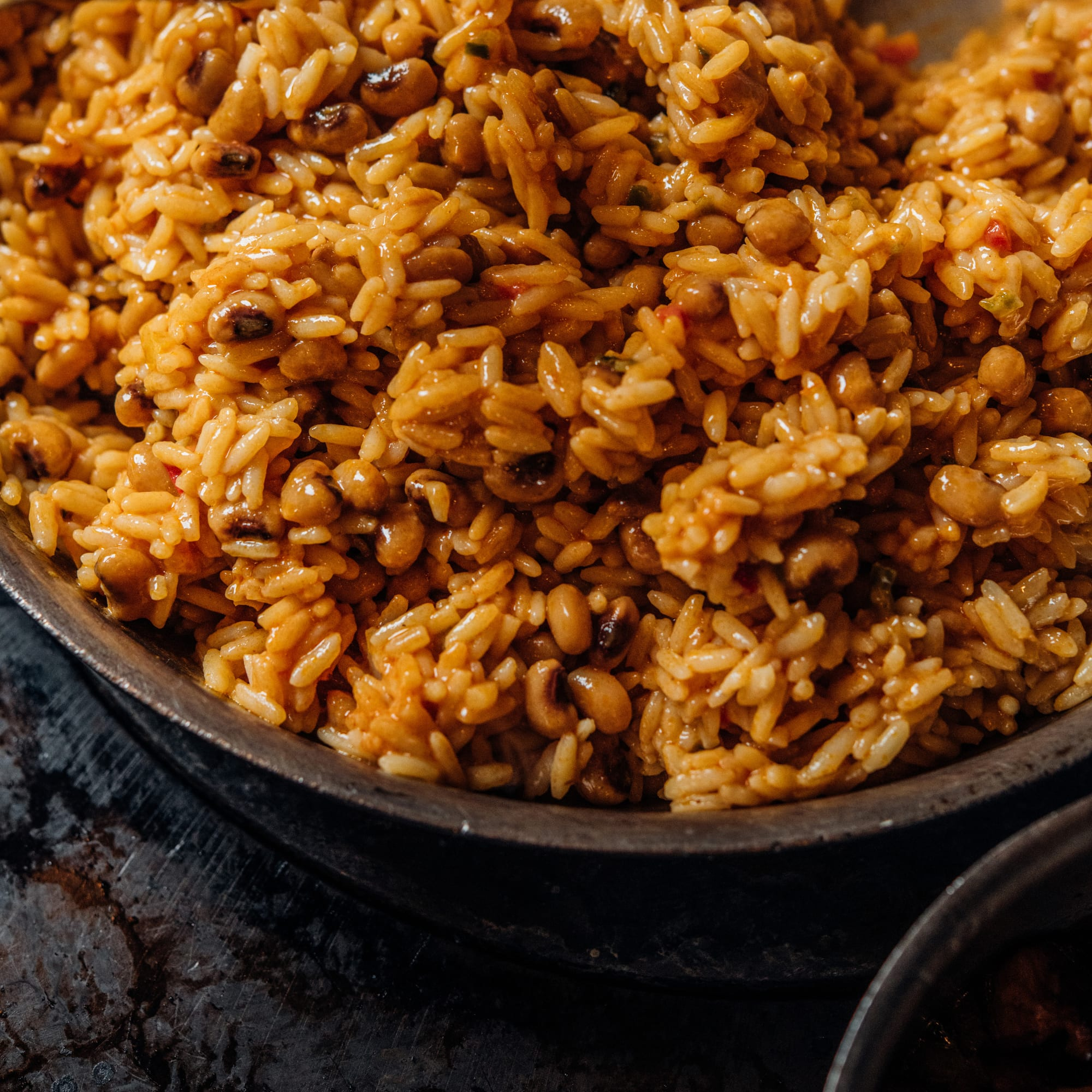 Coconut Rice and Pigeon Peas