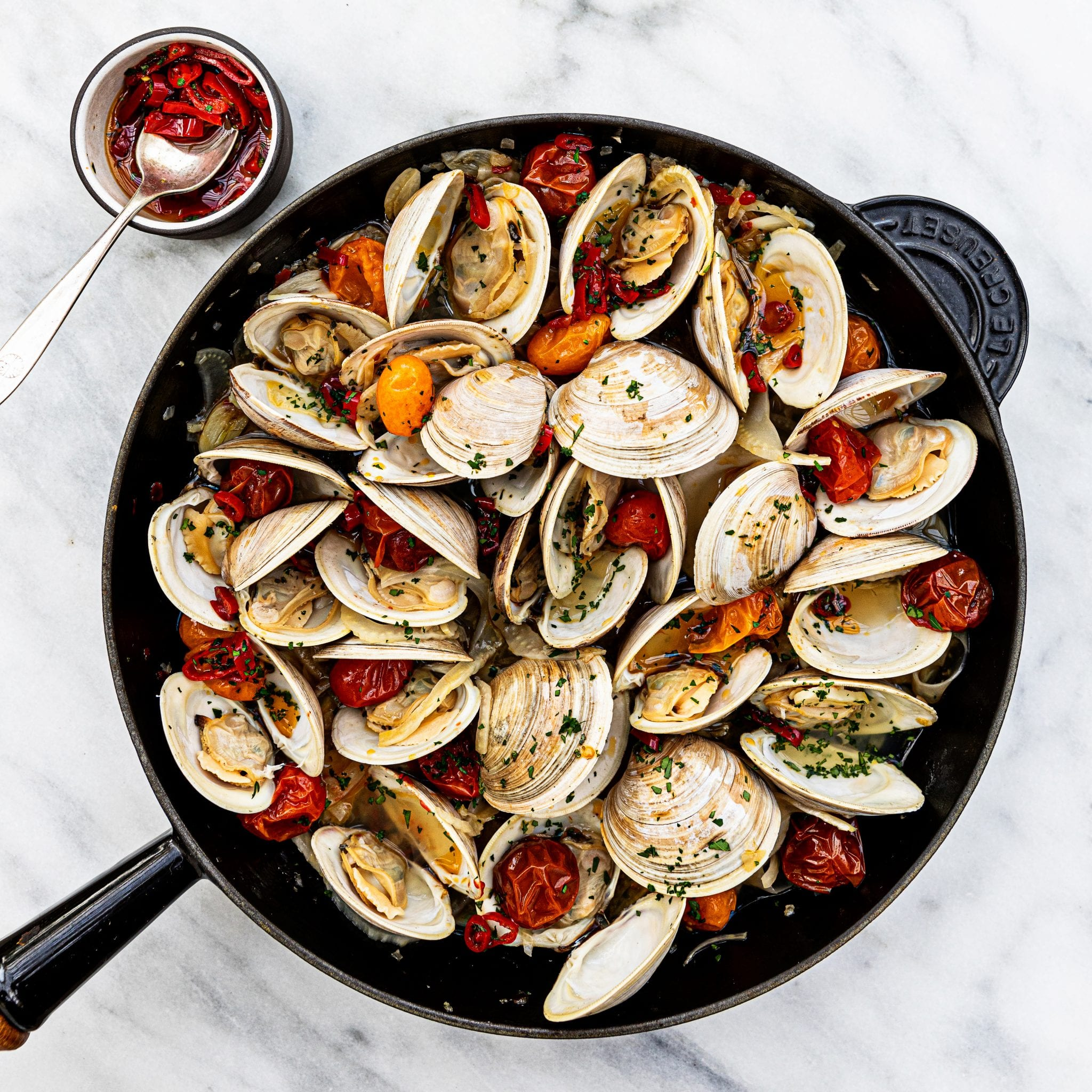 Calabrian-Style Clams