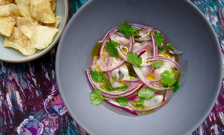 Oysters Ceviche