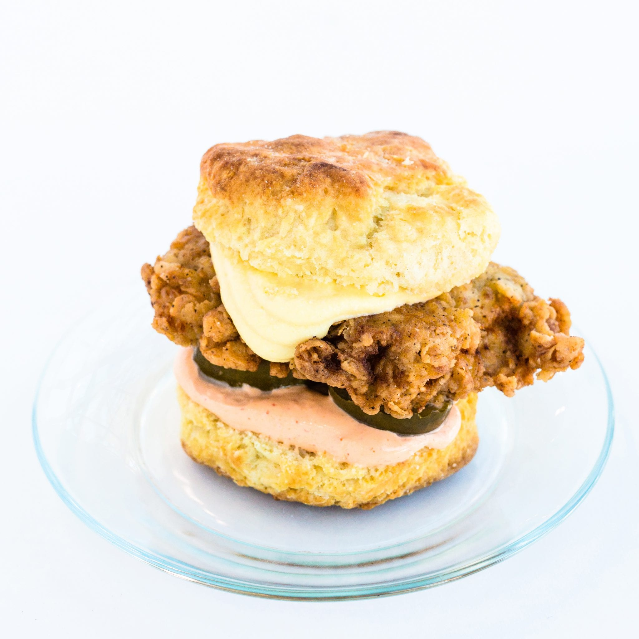 Sarah Simmons' Fried Chicken Biscuit