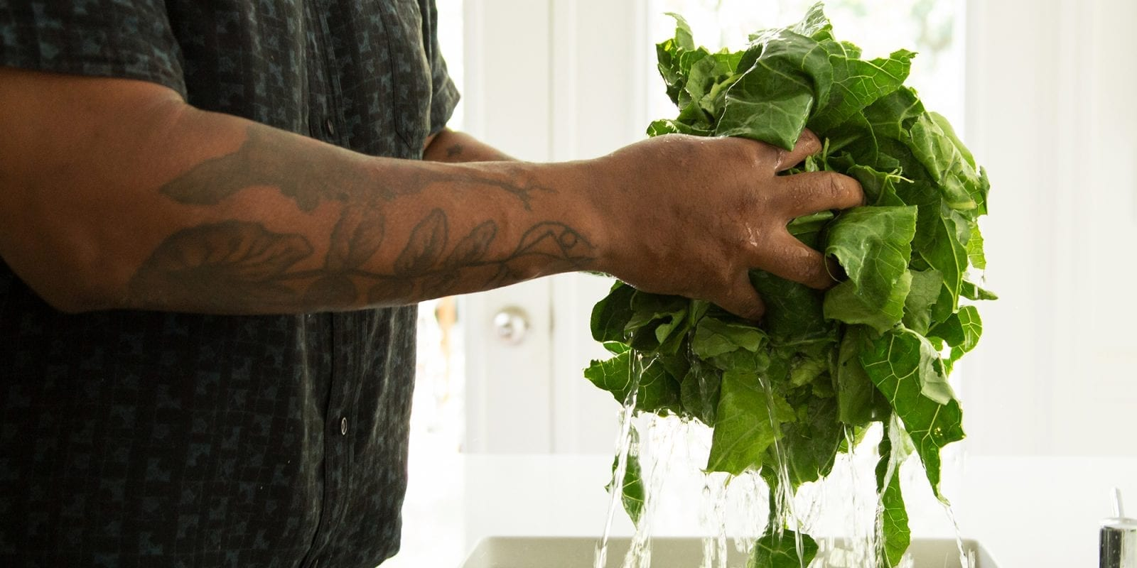 Todd Richards' How-To for Classic Collard Greens