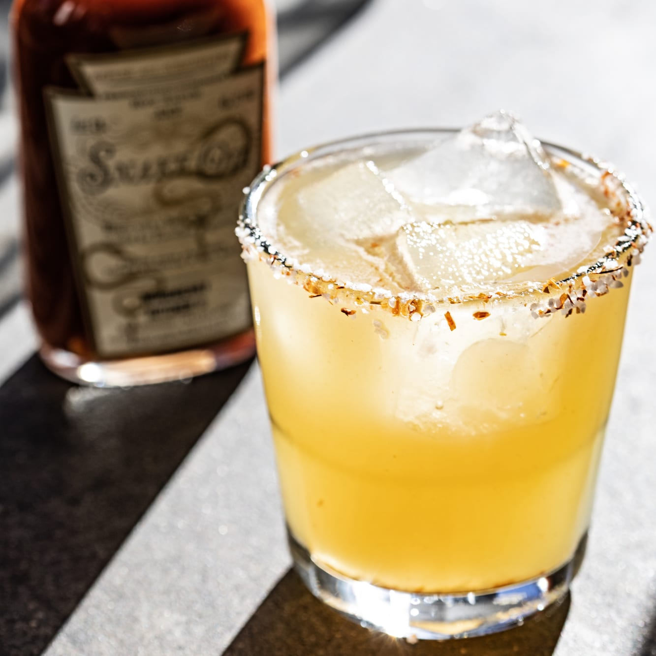 Canningshed's Smoked Apple Brandy Margarita