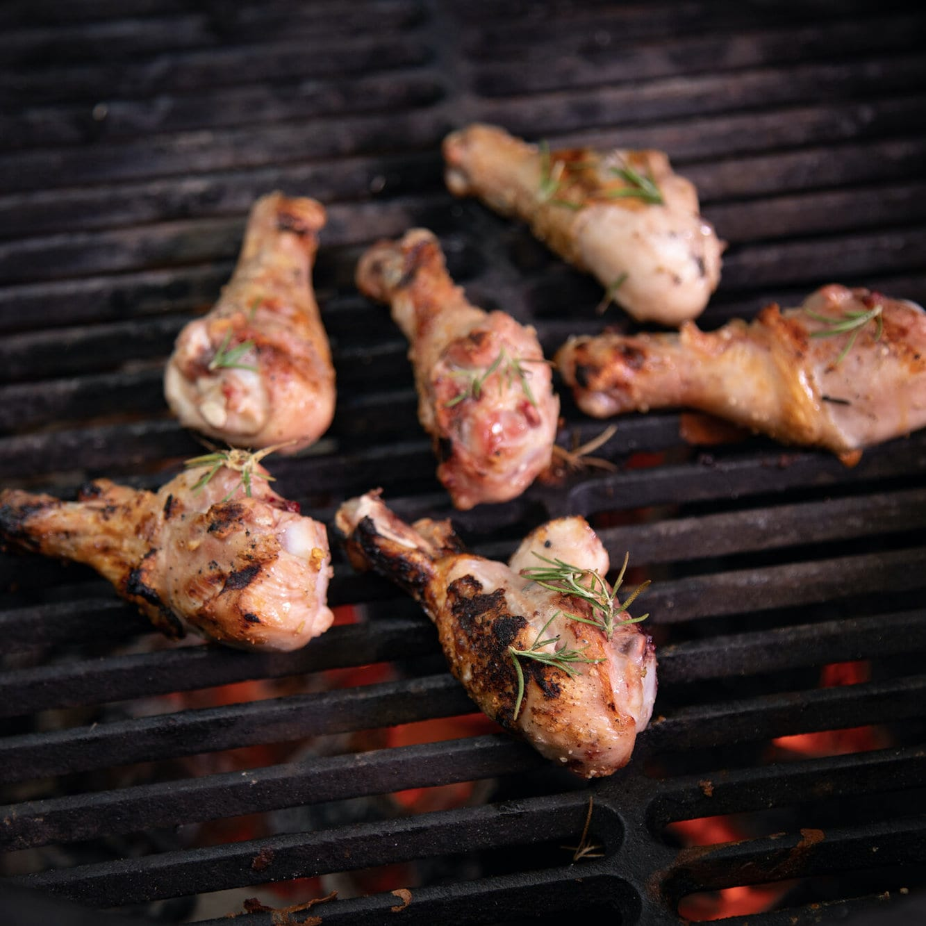 Grillin' & Chillin': <br>Fire Roasted Drumsticks