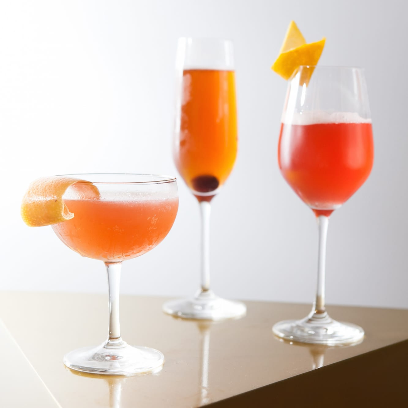 Pop, Fizz, Clink: Champagne Cocktails to Ring in the New Year