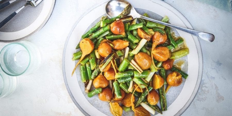 Asparagus and Beets