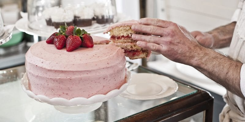 Making the Perfect Strawberry Cake