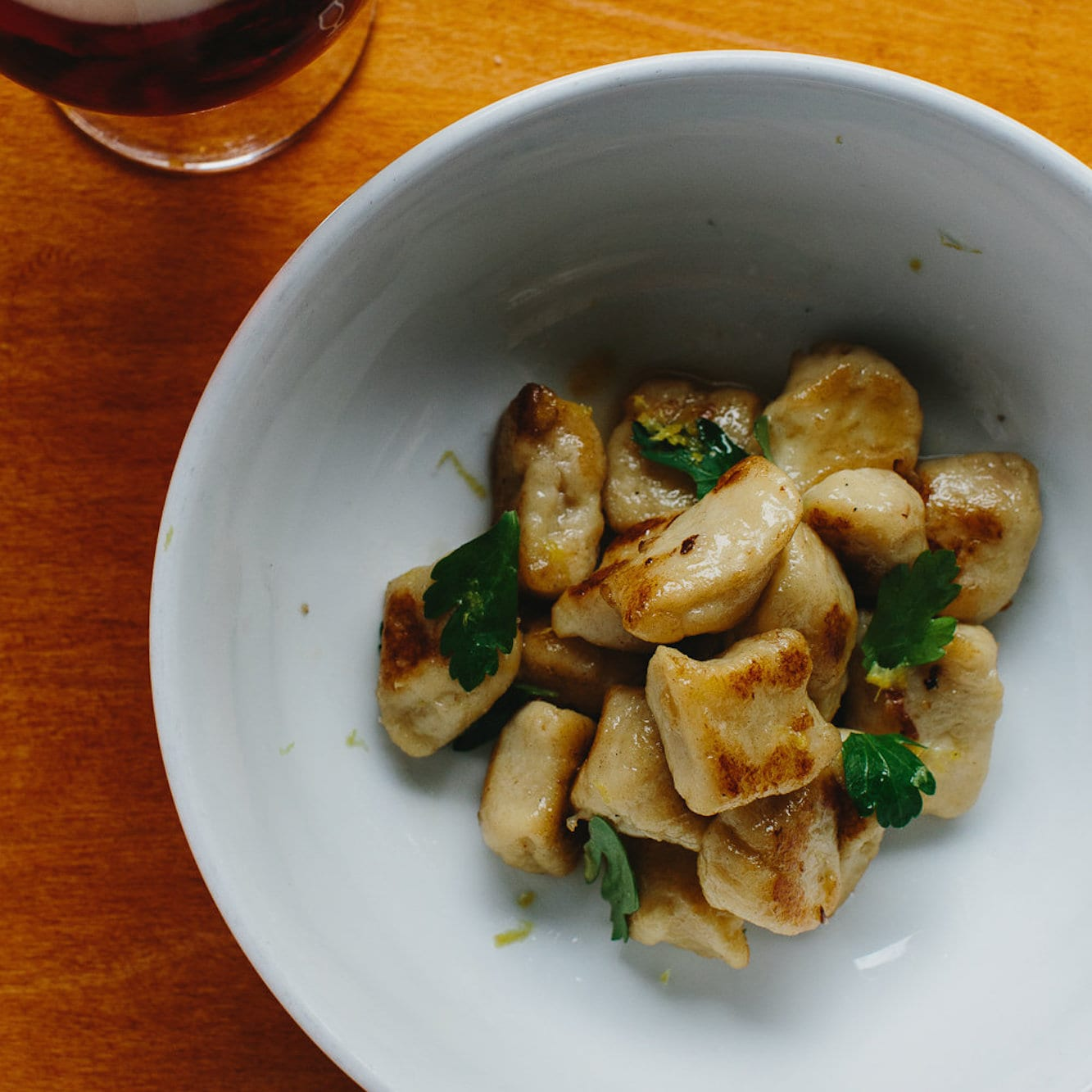 Colcannon Gnocchi with Brown Butter