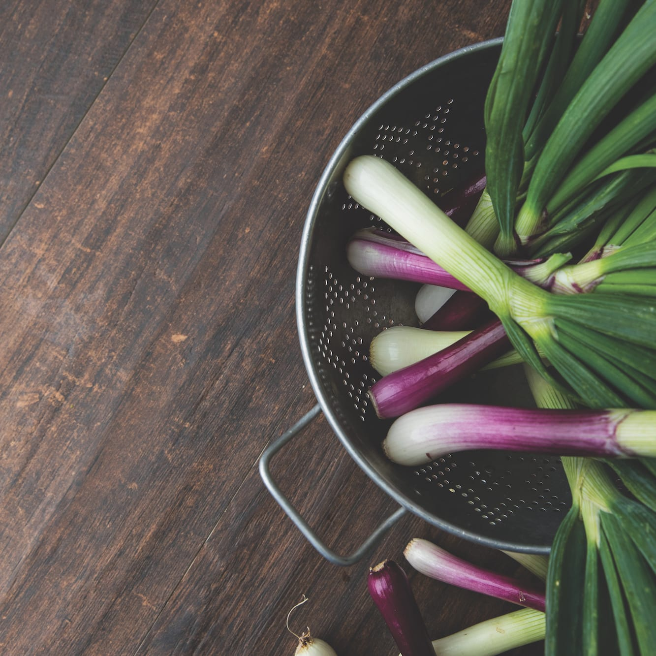 Easy Does It: Spring Onions