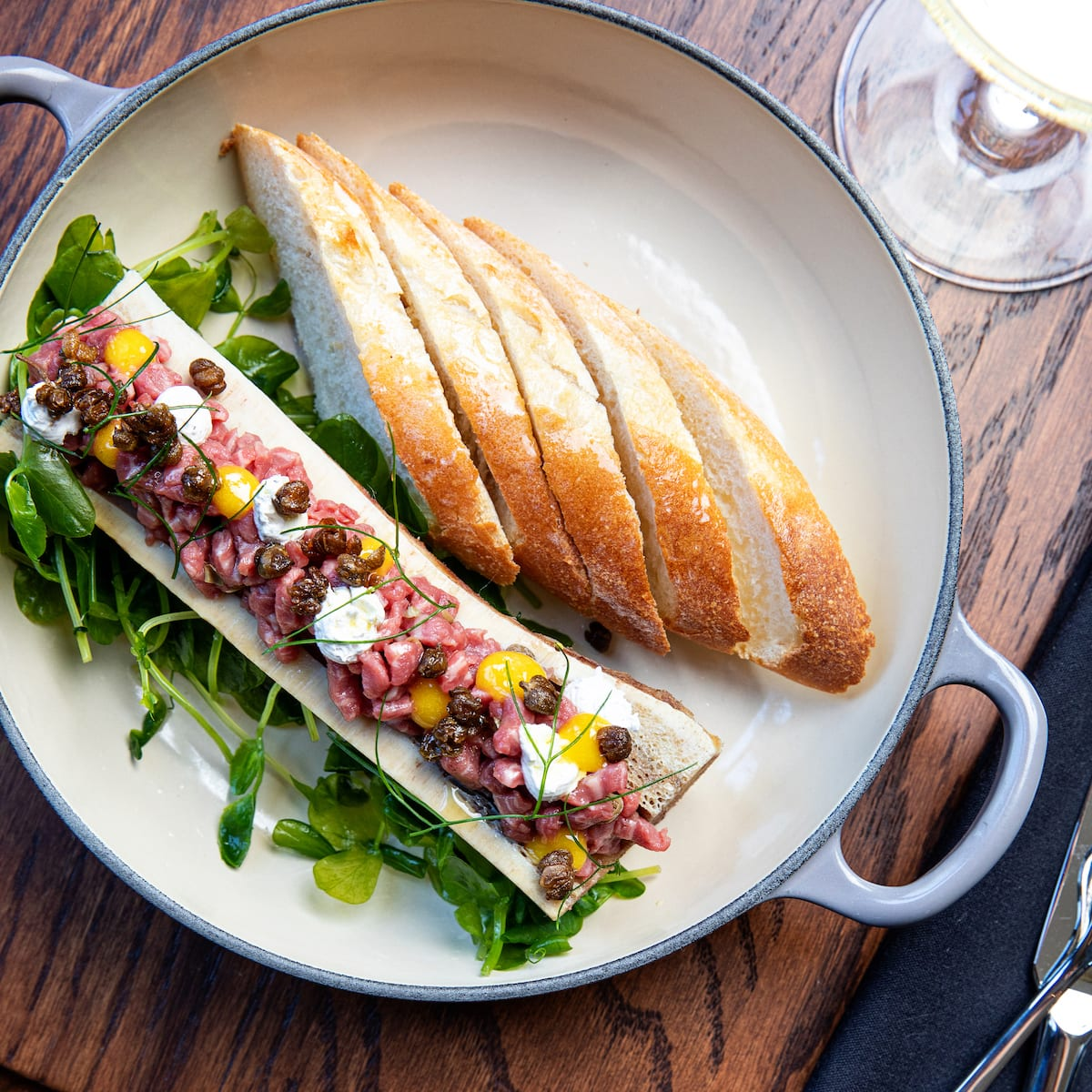 First Look at The Menu of Charleston's Brasserie La Banque